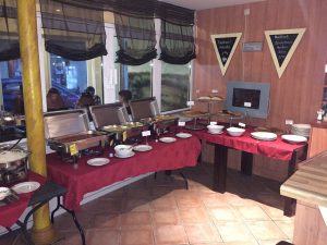 Buffet im Restaurant Kamino Heiligenhafen